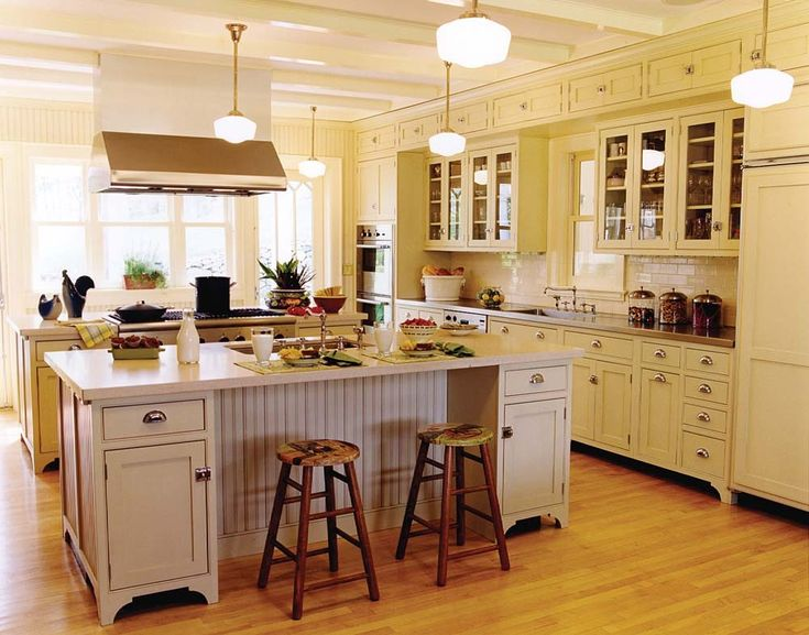 102 best victorian vintage style kitchens images on for Victorian style kitchen