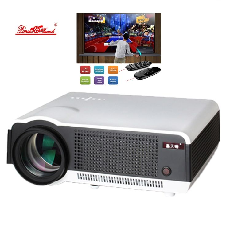 237.23$  Buy here  - LED86 WiFi Full HD 1080P Built-in Android 4.4 RJ45 HDMI USB 3.0 Projector Smart Home Theater Projector