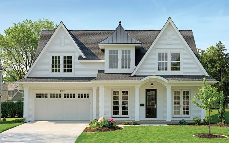 best midwest home design. Balanced gables and French doors that open to a covered porch give this  house its curb 101 best Exteriors Midwest Home Magazine images on Pinterest