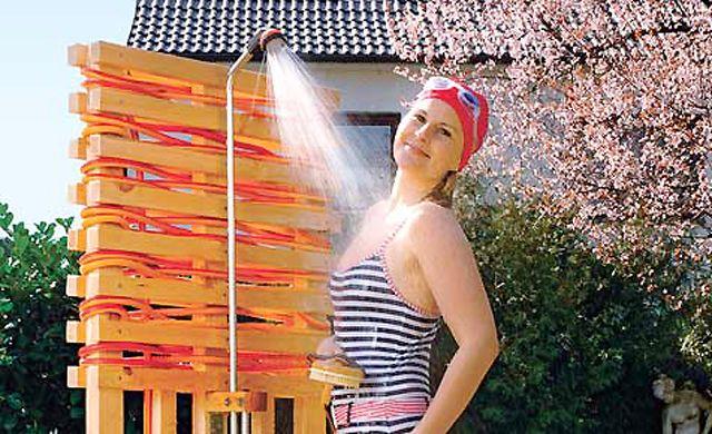 SolarGartendusche poolselberbauen (mit Bildern) Dusche