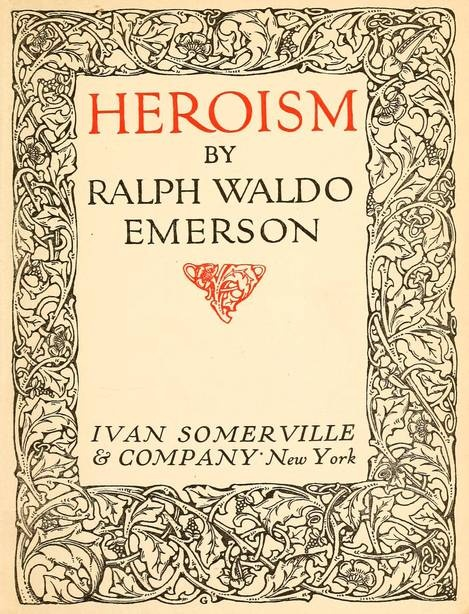 emerson essay vi nature