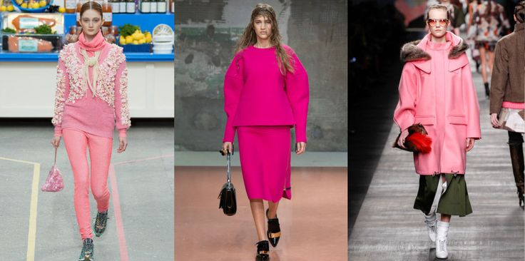 The Colors of FW14 – 10 Ways to Kick Out Black, Grey and Beige #pink #thedailydagny