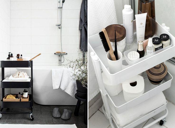 25+ beste ideeën over Badkamer trolley op Pinterest ...