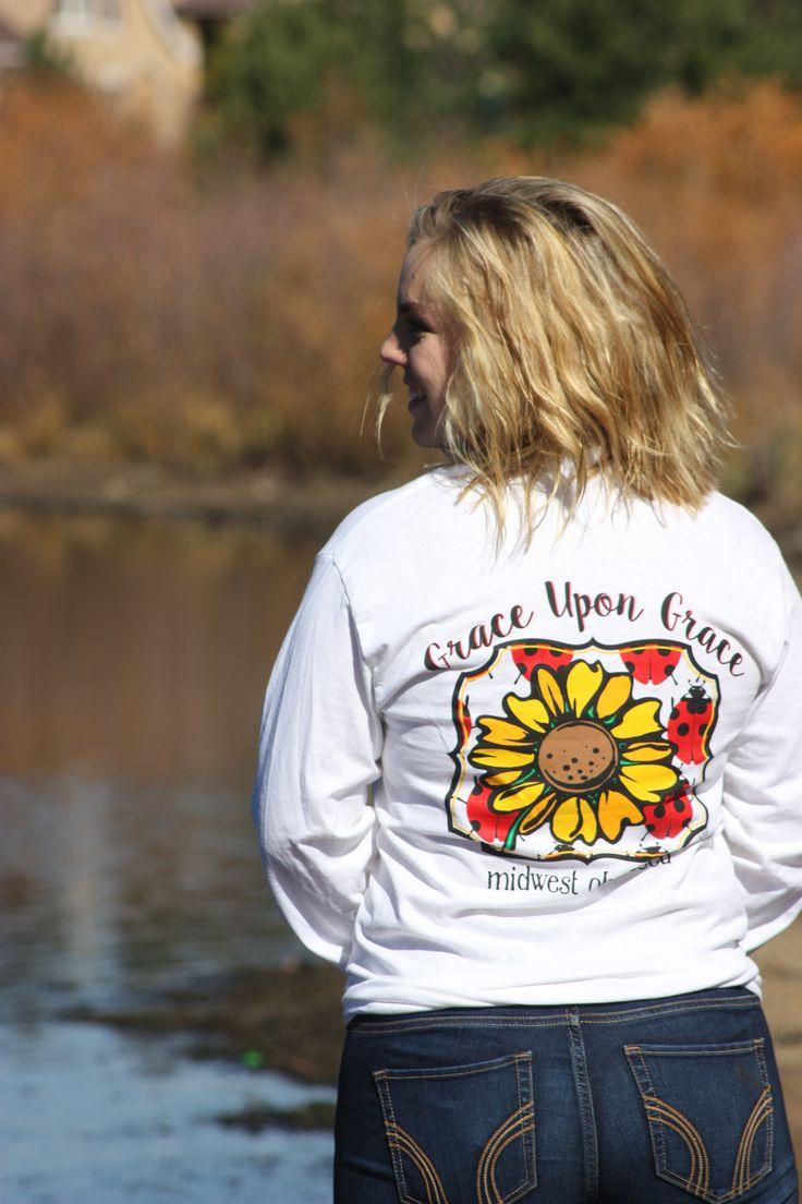 Grace Upon Grace. Long sleeve t-shirt