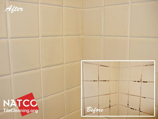 how to get grout white again in shower