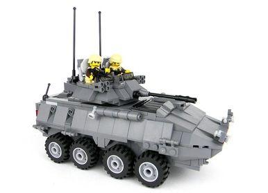 Marine LAV 25 Made With Real LEGO(R) Bricks