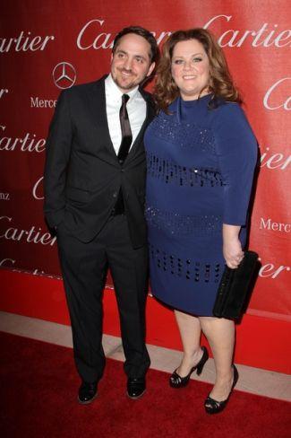 Melissa McCarthy and husband Ben Falcone