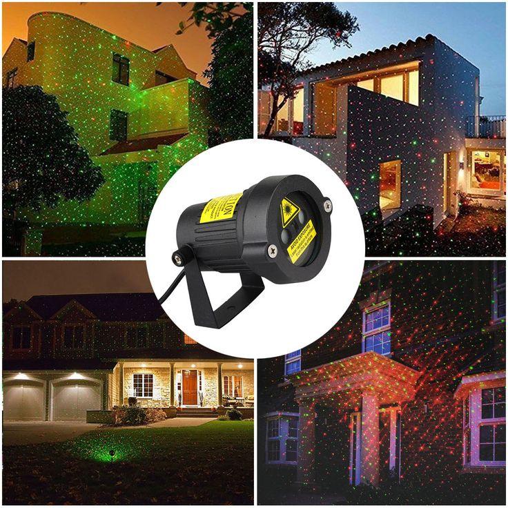 Moving R&G Led Outdoor Ip65 Landscape Laser Projector Lamp Garden Xmas Light Hot