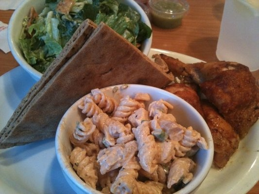 I'm obsessed with the california chicken cafe pasta salad