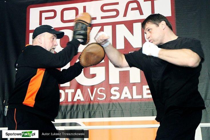 Polsat Boxing Night Andrzej Gołota vs. Przemysław Saleta (trening medialny | media training)