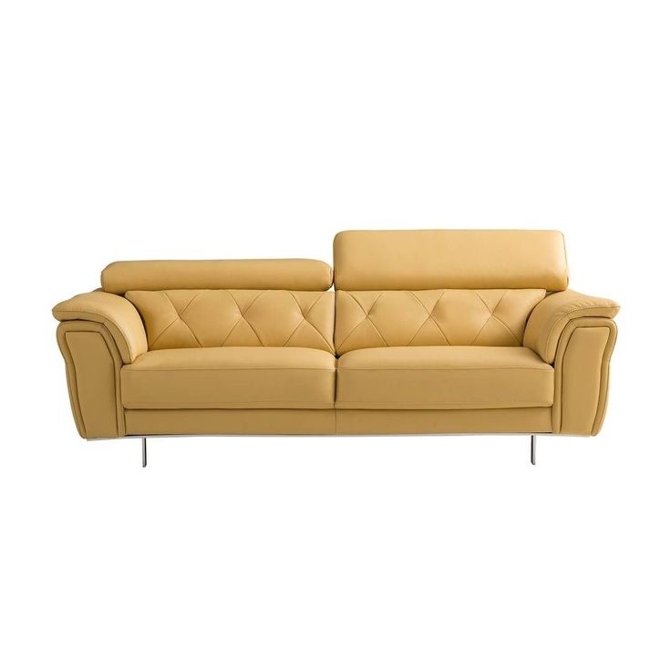 American Eagle Ek B109 Modern Yellow Genuine Leather: Best 25+ Yellow Leather Sofas Ideas On Pinterest