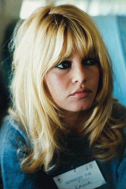 brigitte bardot bangs - Google Search