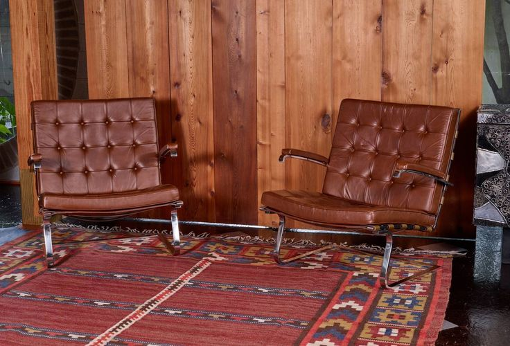 Ludwig Mies van der Rohe Tugendhat Armchairs for Knoll International For Sale at 1stdibs