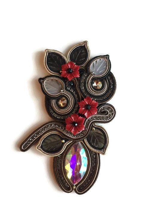 Hey, I found this really awesome Etsy listing at https://www.etsy.com/au/listing/258162292/gorgeous-big-soutache-brooch-or-pendant