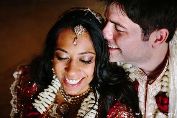 indian wedding portrait tikka bride groom http://maharaniweddings.com/gallery/photo/4257