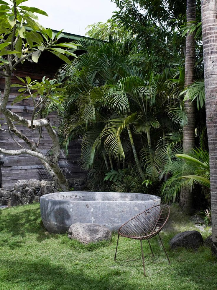 Best 25+ Outdoor Tub Ideas On Pinterest | Outdoor Baths, Gabion Wall And  Outdoor Bathtub