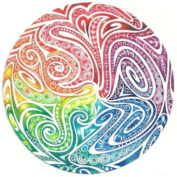 Enthusiastic Artist: Maori spirals    This is BEAUTIFUL!