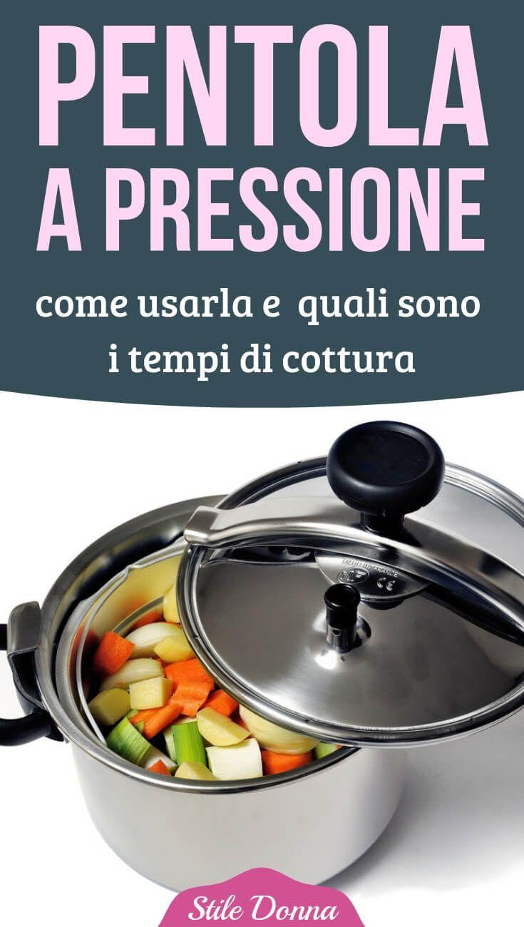 Pentolaapressione Cucinare Stiledonna Ricette Cibo Pentole