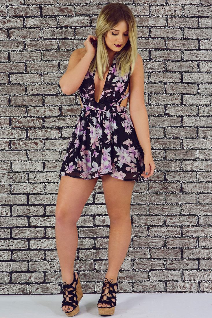 All I Think About Romper: Multi #shophopes