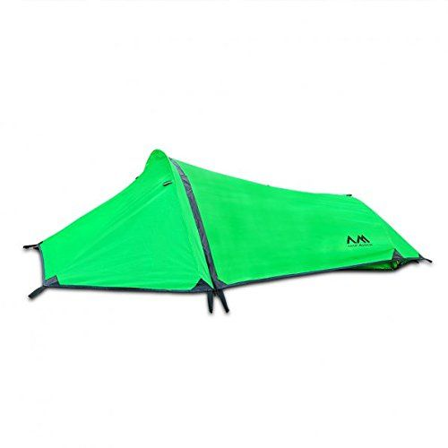 Arctic Monsoon Bivy Tent Portable Lightweight Single Person Backpacking Sack, Green. For product info go to:  https://all4hiking.com/products/arctic-monsoon-bivy-tent-portable-lightweight-single-person-backpacking-sack-green/