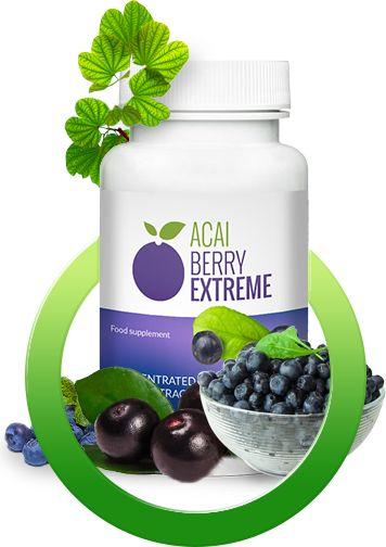 Acai Berry Extreme to maksymalna dawka wyciągu z jagód acai w kapsułkach. Nie znajdziesz lepszego produktu z tym składnikiem!