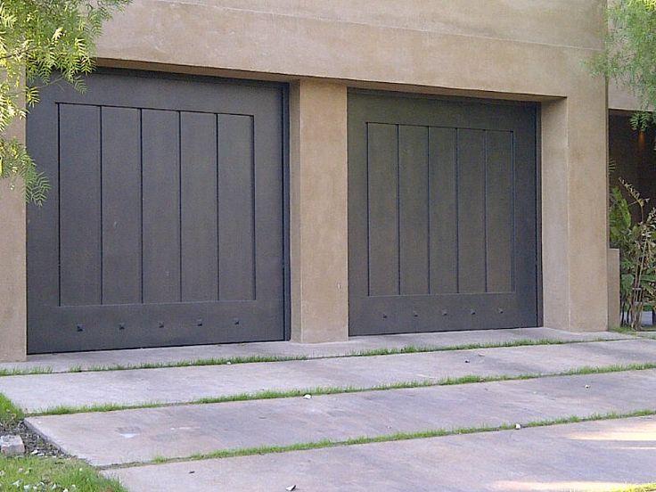 Las 25 mejores ideas sobre portones de garage en for Puertas de madera para garage