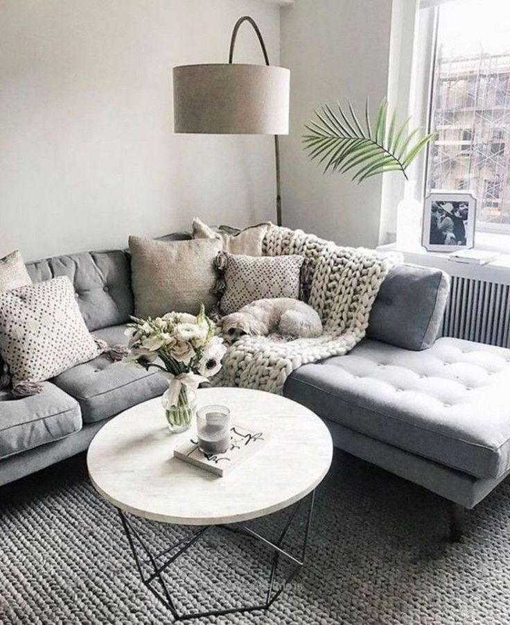 20+ Cute And Chic Living Room Design For Your Home (With ...