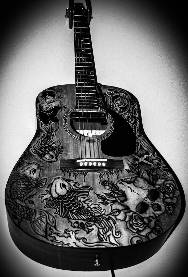 Guitar Designs Art : Best images about sharpie my guitar on pinterest