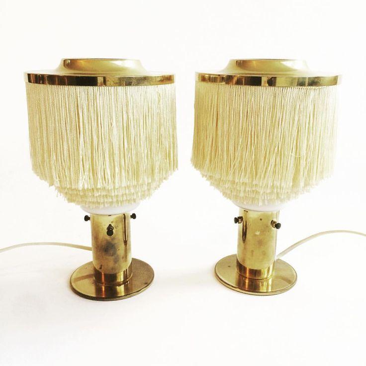 """113 gilla-markeringar, 7 kommentarer - No Name Vintage (@nonamevintageshop) på Instagram: """"Just in, and just sold. Hans-Agne Jakobsson table lamps, B145. #nonamevintageshop #vintage…"""""""