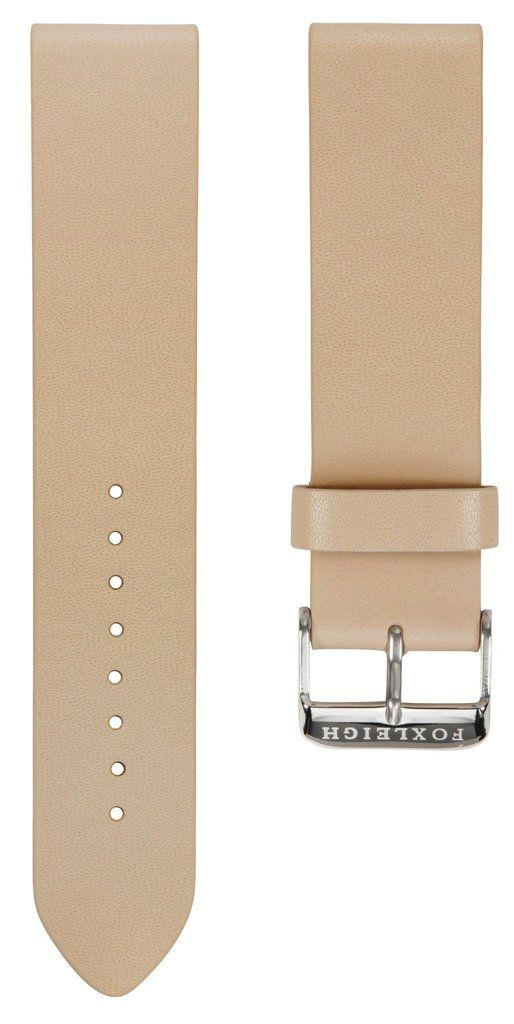 Straps - Creme With Silver Buckle