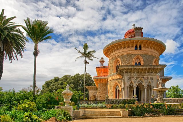 Sintra, a little tourist treasure in Portugal | Palacio de Monserrate, Sintra, Portugal