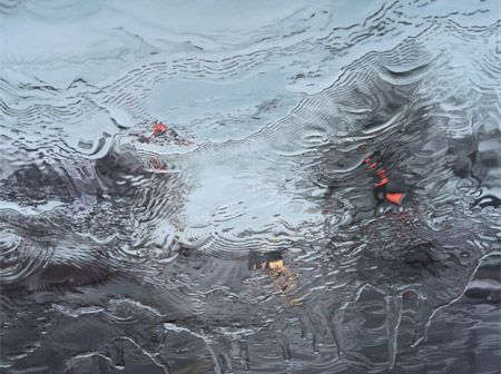Realistic Car Window Paintings by Gregory Thielker