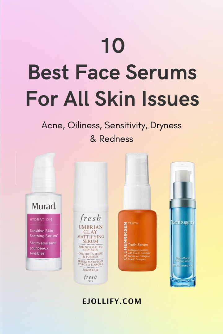 10 Best Face Serums For 20s Dry Oily Combination Sensitive Acne Prone Skin Best Face Serum Best Face Products Face Serum