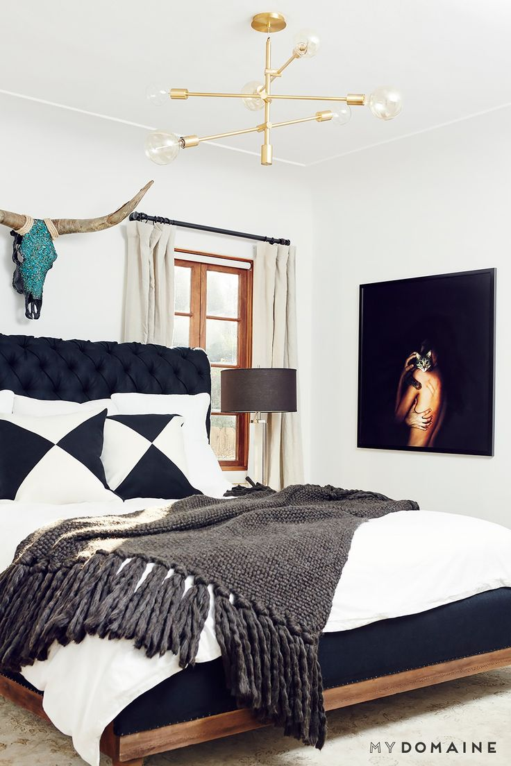 The 5 Chicest Celebrity Bedrooms We've Ever Visited via @MyDomaine