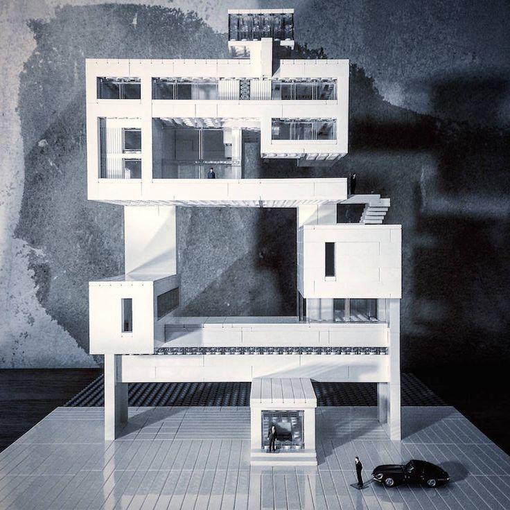 Modern Architecture Lego 34 best lego architecture studio images on pinterest   lego