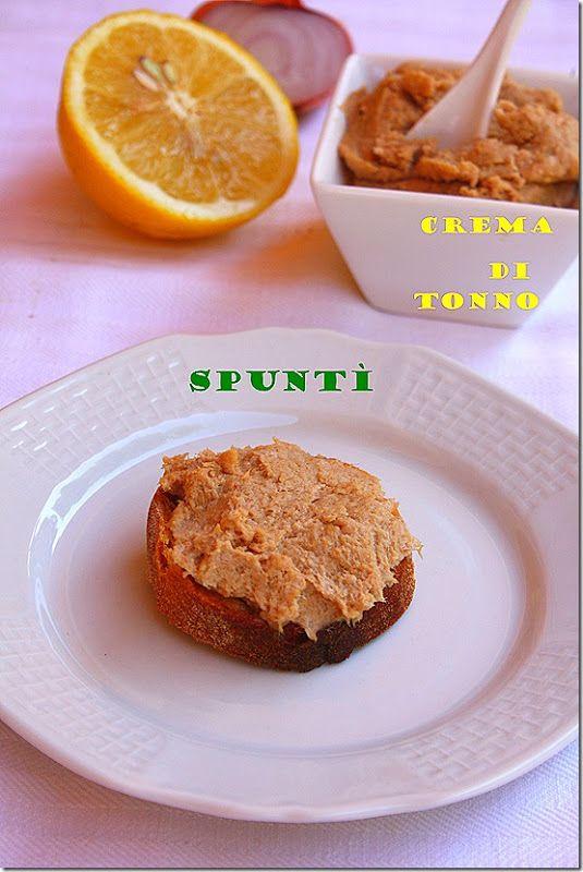 Panza & Presenza: La crema di tonno ( spuntì ) con il bimby