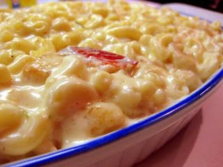 Seafood Mac n Cheese with Lobster, Shrimp & Scallops