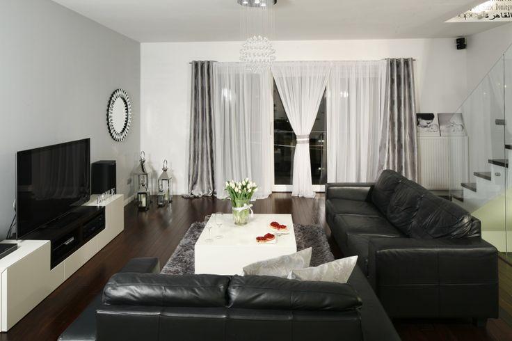 Czarno-biały salon. Zobacz galerię modnych aranżacji  - zdjęcie numer 4