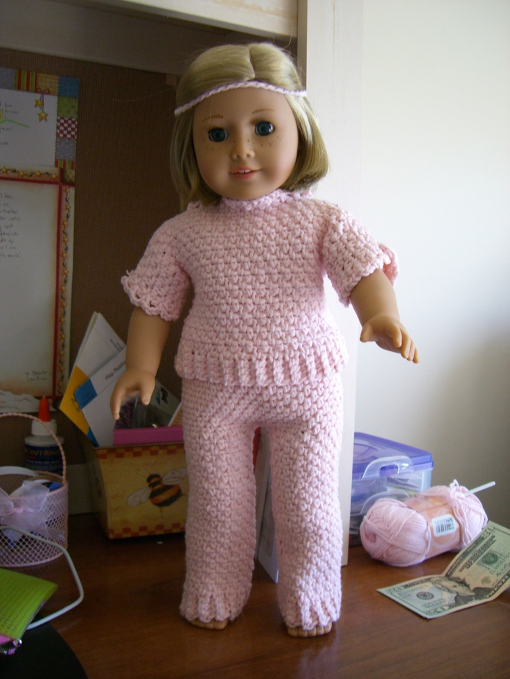 1000 Images About American Doll Crochet Patterns On