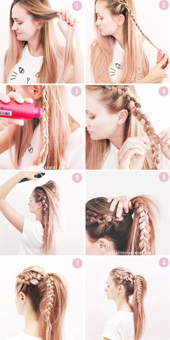 Easy Braided Updos For Shoulder Length Hair : Best 25 simple braids ideas on pinterest braided