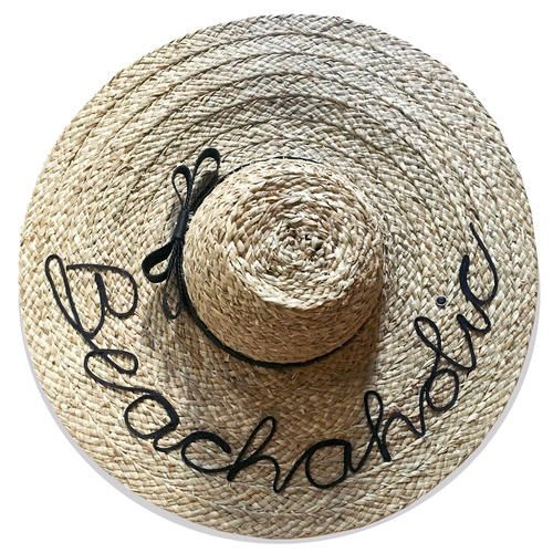 Beachaholic Beach Hat Weekend by Project Fifteen