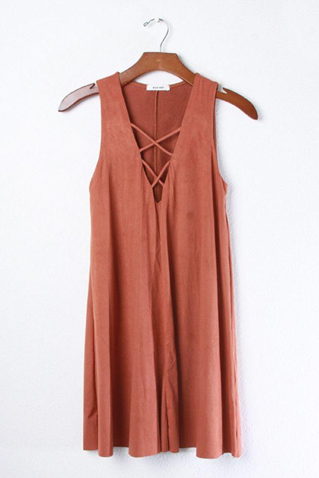 Olivia Criss Cross Dress