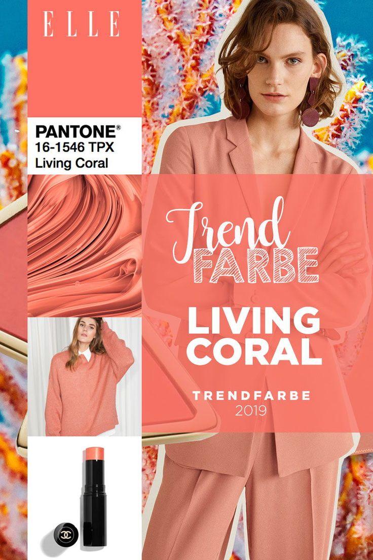 Living Coral ist die Pantone Trendfarbe 2019