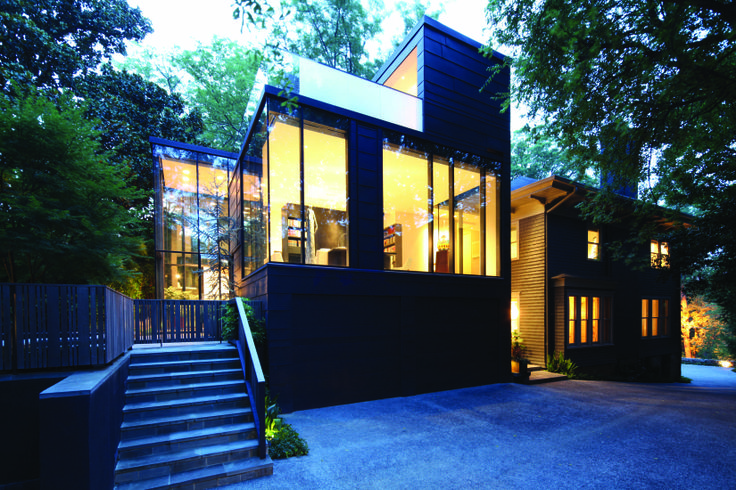 Yin and Yang  The Ansley Glass House  located in Ansley Park of Atlanta  Georgia  is a traditional house extended into a contemporary space that is. Yin and Yang  The Ansley Glass House  located in Ansley Park of