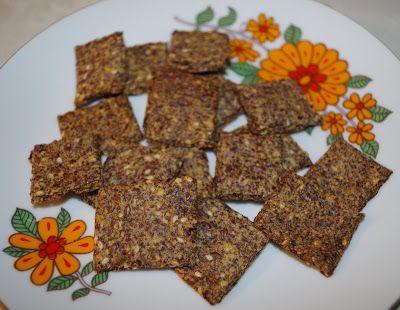 Ľanový chieb alebo krekry (bez múky)