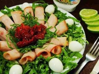 Salada de Almeirão no Capricho!