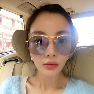 Cat Eye Shape Frame Decorated Simple Design Forever21 Gray. Simple and must have it! REPIN if you love it.😍 Only 174.5 IDR
