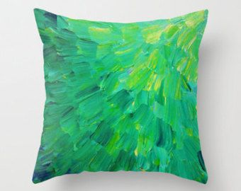 lime green cushions