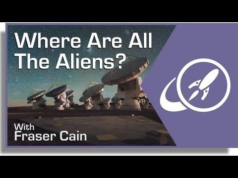 If the Universe is big, and old, and there are countless worlds out there... where are all the aliens?