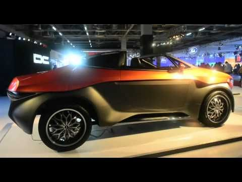 Luxury Car Designer Dilip Chabbaria Showcased His Latest Designs At The Auto Expo Under Brand DC Design